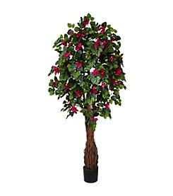 Nearly Natural® 6' Multi Vine Bougainvillea Silk Tree