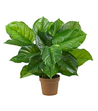 Nearly Natural® Large Leaf Philodendron Silk Plant (Real Touch)