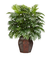 Nearly Natural® Areca Palm with Vase