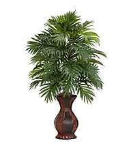 Nearly Natural® Areca Palm with Urn Silk Plant