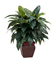 Nearly Natural® Cordyline with Decorative Vase Silk Plant