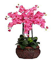 Nearly Natural® Large Phalaenopsis Silk Flower Arrangement