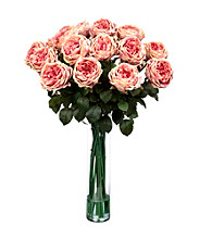 Nearly Natural® Fancy Rose Silk Flower Arrangement