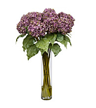 Nearly Natural® Hydrangea Silk Flower Arrangement