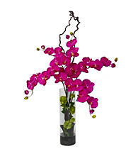 Nearly Natural® Giant Phalaenopsis & Hydrangea Silk Flower Arrangement