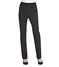 Laura Ashley® Petites' Basic Twill Pants