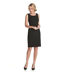 Briggs New York® Black Sleeveless Dress