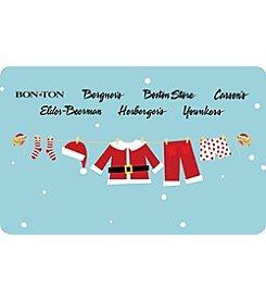 Gift Card - Santas Laundry Line