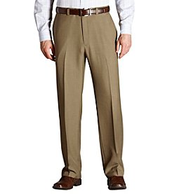 Haggar® Men's Classic Fit Flat Front Repreve Dress Pant