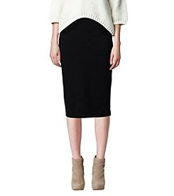 Vince Camuto® Black Fitted Skirt