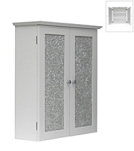 Elegant Home Fashions® Buckingham Wall Cabinet - White