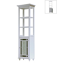 Elegant Home Fashions® Windsor Linen Tower - White