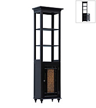 Elegant Home Fashions® Windsor Linen Tower - Dark Espresso