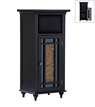 Elegant Home Fashions® Windsor Floor Cabinet - 1 Door/1 Drawer - Dark Espresso