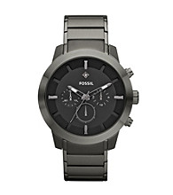 Fossil® Men's Gunmetal Stainless Steel Watch