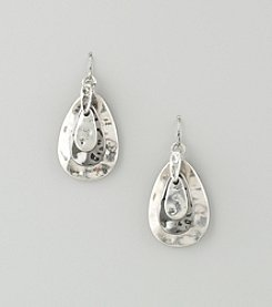 Laura Ashley Layered Teardrop Earrings