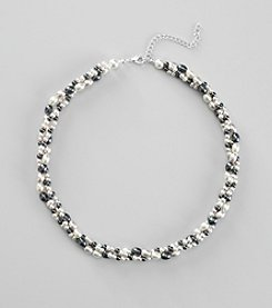 Studio Works® Faux Pearl Twisted Necklace