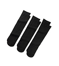 Relativity® Flat-Knit Trouser Sock 3-pk.