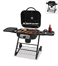 Uniflame Deluxe Outdoor Charcoal Barbeque Grill