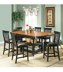 Whalen Furniture Clearbrook Counter Height Dining Room Collection