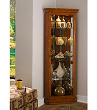 Pulaski Furniture Corporation® Corner Curio Cabinet