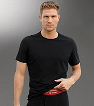 Jockey® Men's Big & Tall 3D-Innovations Black Crewneck T-Shirt