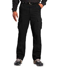 555 Turnpike™ Men's Big & Tall Black Twill Cargo Pants