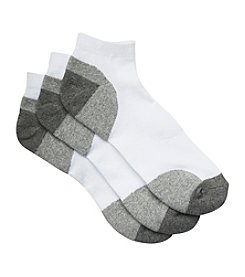 Harbor Bay® Men's Big & Tall 3-pk Balance Point™ Continuous Comfort™ Low Cut Socks