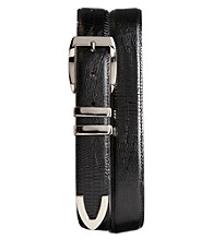 Synrgy™ Men's Big & Tall Lizard Dress Belt