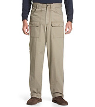 Oak Hill® Men's Big & Tall Heritage Canvas Cargo Pants