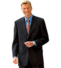 Gold Series™ Men's Big & Tall Black Continuous Comfort™ Suit Coat