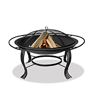 UniFlame® Mosaic Tile Outdoor Firebowl with Copper Accents