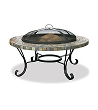 UniFlame® Slate Tile and Copper Outdoor Firebowl