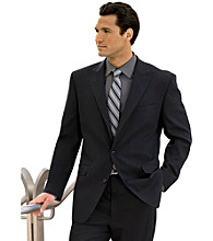 Synrgy™ Men's Big & Tall Black Suit Coat