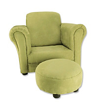 Trend Lab Club Chair - Avocado Green Ultrasuede