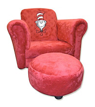 Trend Lab Chair - Red Velour Cat in the Hat®