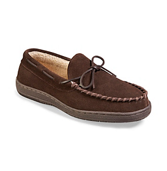 Hide-Aways by L. B. Evans Men's Big & Tall Morgan Moccasins