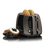 Hamilton Beach® Black Ice™ Metal Collection 2-Slice Toaster