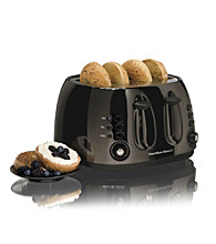 Hamilton Beach® Black Ice™ Metal Collection 4-Slice Toaster