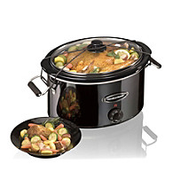 Hamilton Beach® Black Ice™ Metal Collection 7-qt. Slow Cooker