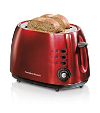 Hamilton Beach® 2-Slice Red Metal Toaster