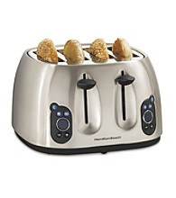 Hamilton Beach® Digital Stainless Steel 4-Slice Toaster
