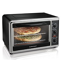 Hamilton Beach® Black Countertop Oven with Convection And Rotisserie