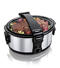 Hamilton Beach® Stay Or Go™ 6-qt. Portable Slow Cooker