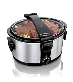 Hamilton Beach® Stay Or Go™ 7-qt. Portable Slow Cooker