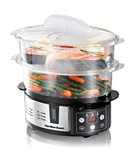 Hamilton Beach® 2-Tier Digital Steamer