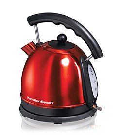 Hamilton Beach® 1.7-Liter Candy Apple Red Kettle