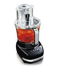 Hamilton Beach® Big Mouth® 12-Cup Food Processor with Extra 4-Cup Bowl