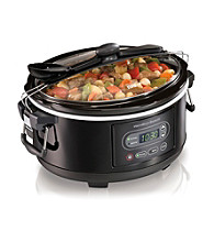 Hamilton Beach® Stay Or Go™ 5-qt Programmable Slow Cooker