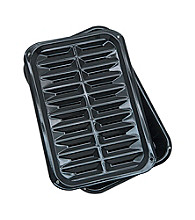 Range Kleen 2-pc. Black Broil 'n Bake Pan with Grill